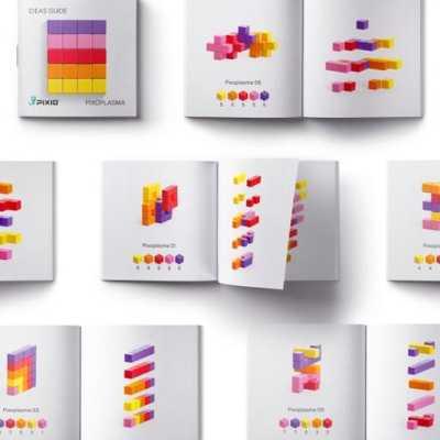 Pixio Abstract Pixoplasma İnteraktif Mıknatıslı Manyetik Blok Oyuncak - Thumbnail