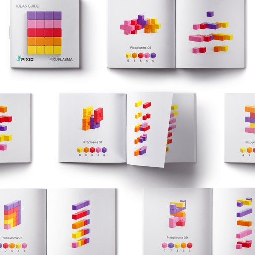 Pixio Abstract Pixoplasma İnteraktif Mıknatıslı Manyetik Blok Oyuncak