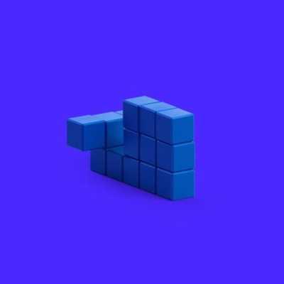 Pixio Blue Whale İnteraktif Mıknatıslı Manyetik Blok Oyuncak - Thumbnail