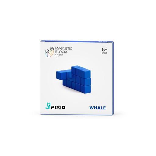 Pixio Blue Whale İnteraktif Mıknatıslı Manyetik Blok Oyuncak