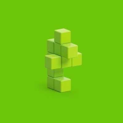 Pixio Light Green Sea Horse İnteraktif Mıknatıslı Manyetik Blok Oyuncak - Thumbnail