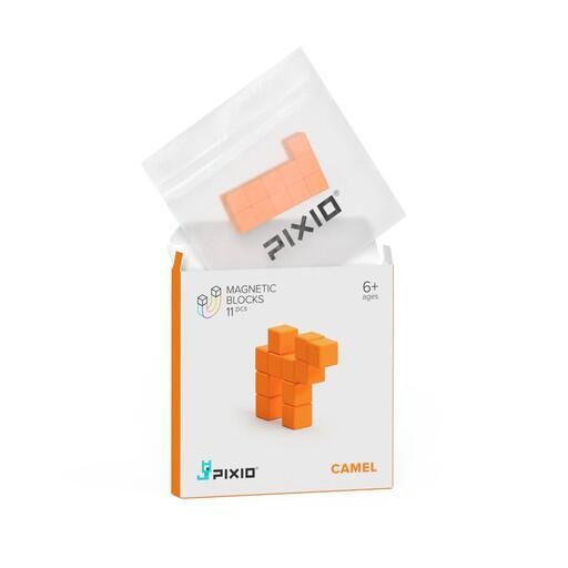Pixio Orange Camel İnteraktif Mıknatıslı Manyetik Blok Oyuncak