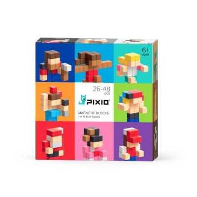 PIXIO - Pixio Surprise Mini Figures İnteraktif Mıknatıslı Manyetik Blok Oyuncak