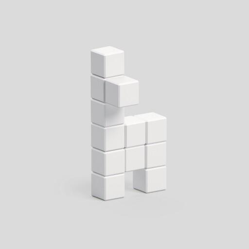 Pixio White Llama İnteraktif Mıknatıslı Manyetik Blok Oyuncak