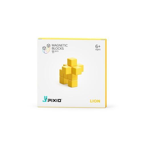 Pixio Yellow Lion İnteraktif Mıknatıslı Manyetik Blok Oyuncak