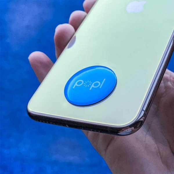 POPL Blue Dijital Kartvizit