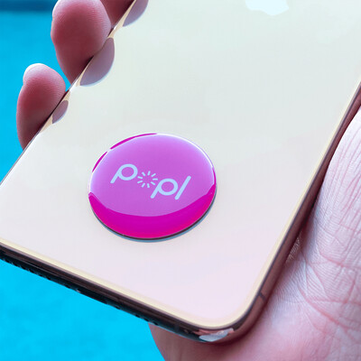 POPL Pink Dijital Kartvizit - Thumbnail