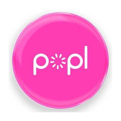 POPL - POPL Pink Dijital Kartvizit