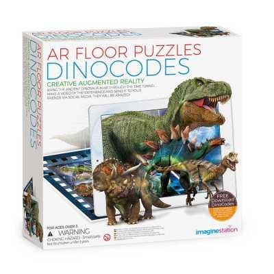 IMAGINE STATION - AR Floor Puzzles Dinocodes Aplikasyon Destekli Arttırılmış Gerçeklik Oyunu