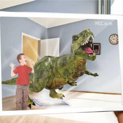 AR Floor Puzzles Dinocodes Aplikasyon Destekli Arttırılmış Gerçeklik Oyunu - Thumbnail