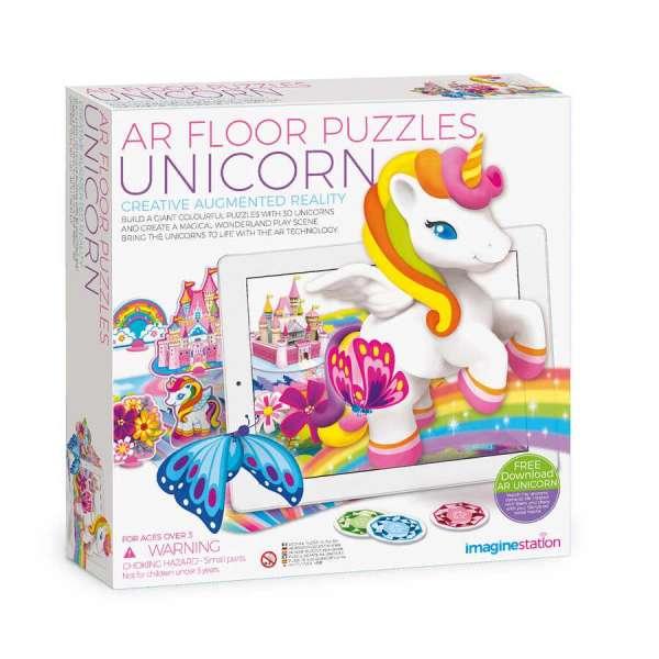 AR Floor Puzzles Unicorn Aplikasyon Destekli Arttırılmış Gerçeklik Oyunu