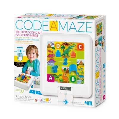 IMAGINE STATION - Code A Maze 3+ Yaşa Uygun Basitleştirilmiş Robotik Kodlama Seti