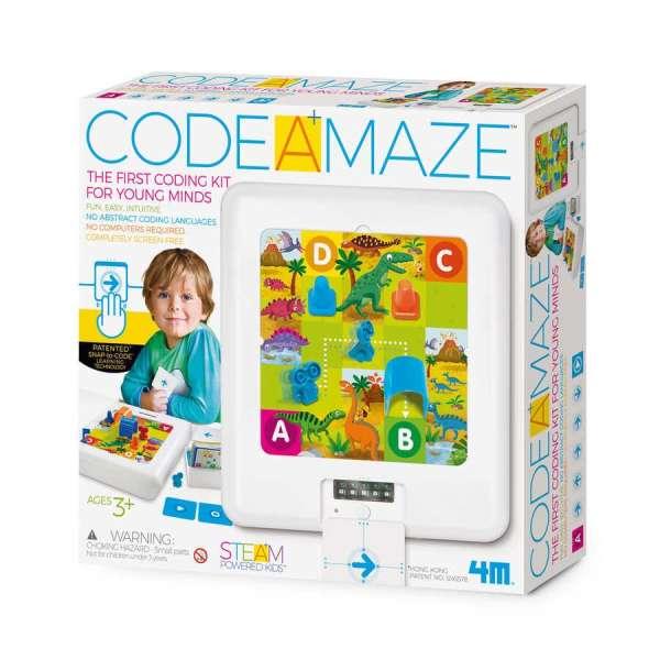 Code A Maze 3+ Yaşa Uygun Basitleştirilmiş Robotik Kodlama Seti