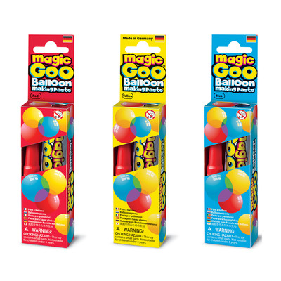 IMAGINE STATION - Magic Goo (3 in 1) Red Blue Yellow Sihirli Balon Macunu