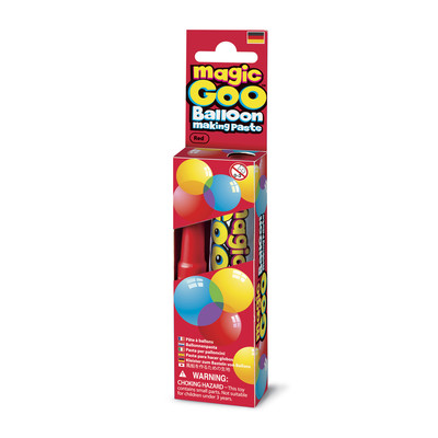 IMAGINE STATION - Magic Goo Balloon Making Paste Red Sihirli Balon Macunu