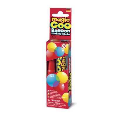 Magic Goo Balloon Making Paste Red Sihirli Balon Macunu - Thumbnail