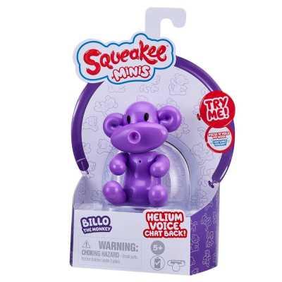 Squeakee Minis İnteraktif Balon Oyuncak Billo The Monkey - Thumbnail