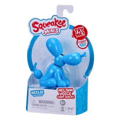 Squeakee Minis İnteraktif Balon Oyuncak Heelie The Puppy - Thumbnail