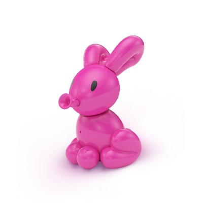 Moose Toys - Squeakee Minis İnteraktif Balon Oyuncak Poppy The Bunny