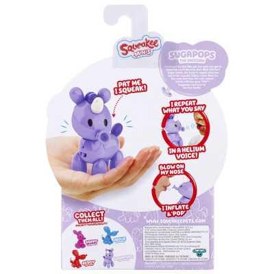 Squeakee Minis İnteraktif Balon Oyuncak Unicorn - Thumbnail