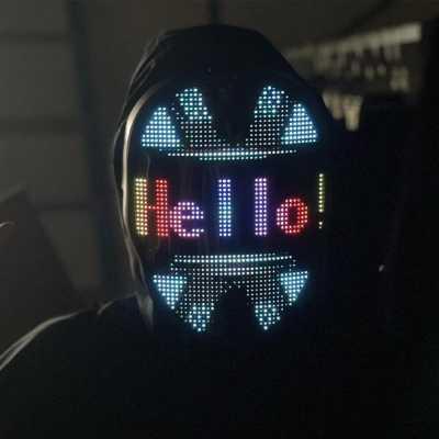 Uygulama Destekli LED Maske - Thumbnail