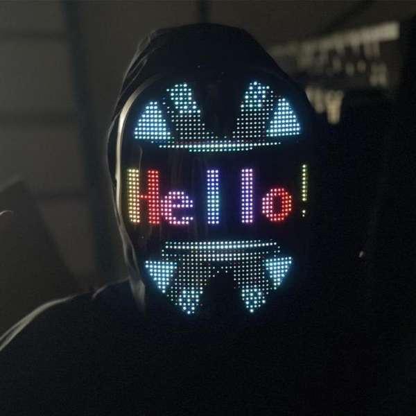 Uygulama Destekli LED Maske